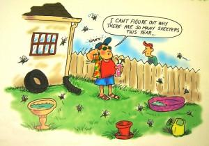 Alabama Mosquito Cartoon